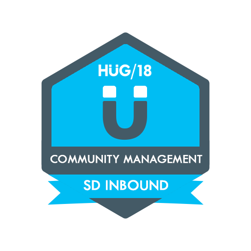 HUG Badge - Community Management