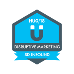 HUG Badge - Disruptive Marketing