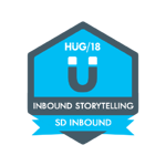 HUG Badge - Inbound Storytelling