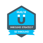 HUG Badge - Inbound Strategy