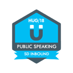 HUG Badge - Public Speaking