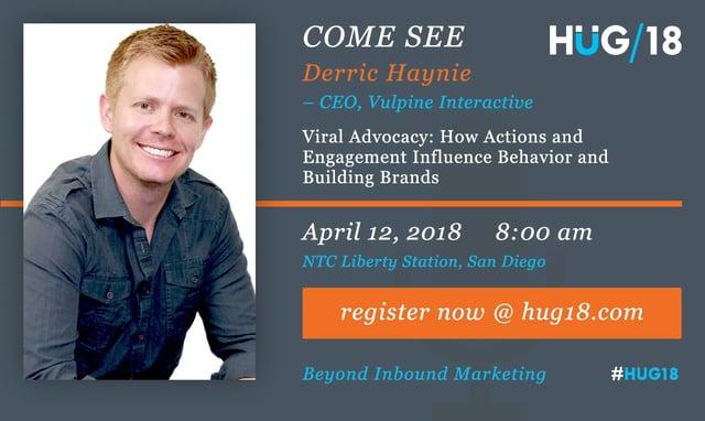 Derric Haynie Vulpine Interactive HUG2018