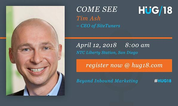 SDHUG_SpeakerAnnouncement_Tim_HUG18