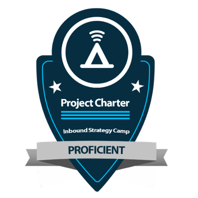 Inbound Strategy Camp - Project Charter - Proficient