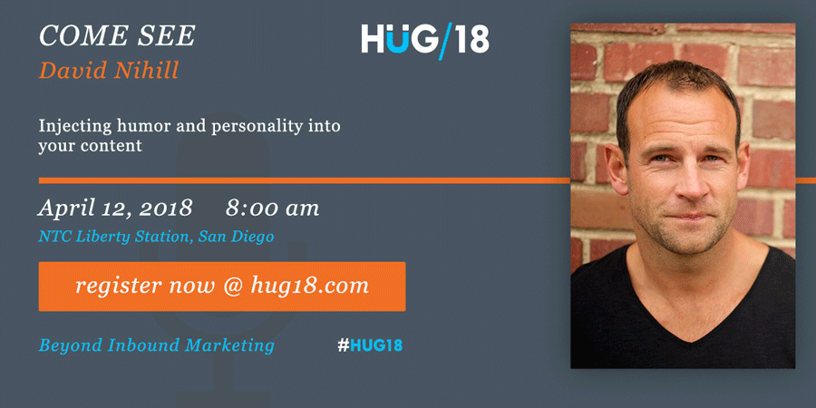 SDHUG_SpeakerAnnouncement_David_HUG18_V2