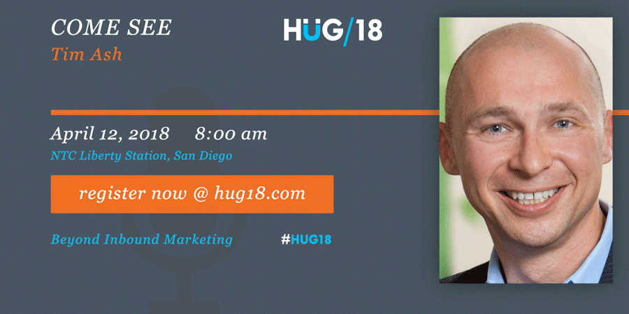 SDHUG_SpeakerAnnouncement_Tim_HUG18_V2